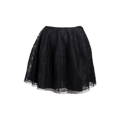Authentic Second Hand Simone Rocha Lace Flare Skirt (PSS-088-00090)