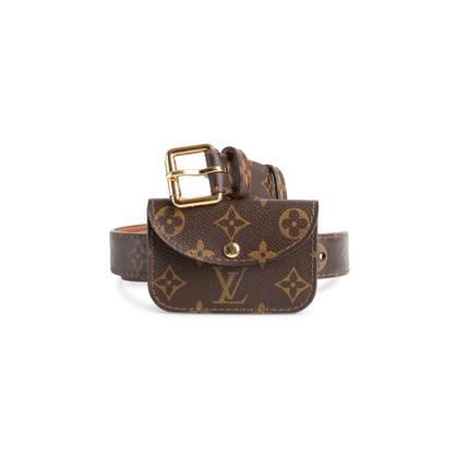 Authentic Second Hand Louis Vuitton Ceinture Pochette Belt (PSS-874-00002)