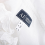 Authentic Second Hand Armani Jeans Ruffled Blouse  (PSS-047-00093) - Thumbnail 2