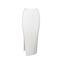 Authentic Second Hand Solace London Rib Knit Maxi Skirt (PSS-054-00207) - Thumbnail 0
