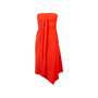 Authentic Second Hand Cedric Charlier Asymmetrical Strapless Dress (PSS-054-00280) - Thumbnail 0