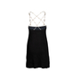 Authentic Second Hand Coviello and Erickson Crystal Embellished Back Dress (PSS-045-00086) - Thumbnail 1
