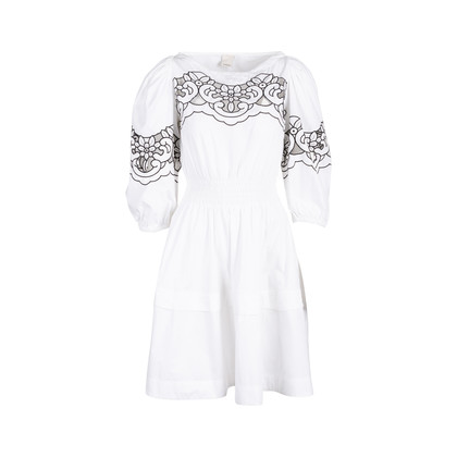 Authentic Second Hand Pinko Lace Insert Dress (PSS-045-00124)