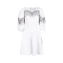 Authentic Second Hand Pinko Lace Insert Dress (PSS-045-00124) - Thumbnail 0