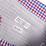 Authentic Second Hand Brunello Cucinelli Slim Fit Checked Shirt (PSS-517-00048) - Thumbnail 3