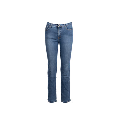 Authentic Second Hand Moschino Straight Cut Jeans (PSS-341-00030)