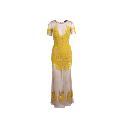 Authentic Second Hand For Love and Lemons Luau Maxi Dress (PSS-885-00001)