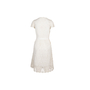 Authentic Second Hand Collette By Collette Dinnigan Belted Lace Dress (PSS-583-00022) - Thumbnail 1