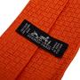 Authentic Second Hand Hermès Orange H Tie (PSS-876-00005) - Thumbnail 3