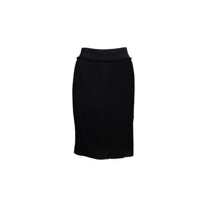 Authentic Second Hand Anteprima Sheer Pleated Skirt (PSS-856-00137)