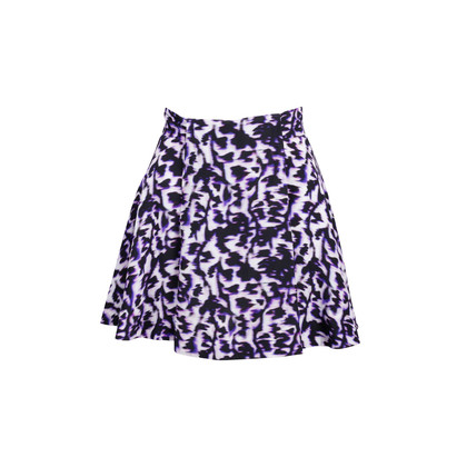 Authentic Second Hand Balenciaga Abstract Print Mini Skirt (PSS-886-00016)