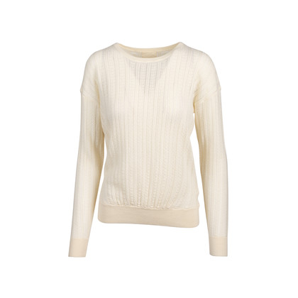 Authentic Second Hand Band Of Outsiders Crochet Sweater (PSS-054-00356)