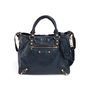 Authentic Second Hand Balenciaga Persian Blue  Velo  Bag (PSS-831-00007) - Thumbnail 0