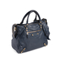 Authentic Second Hand Balenciaga Persian Blue  Velo  Bag (PSS-831-00007) - Thumbnail 1