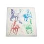 Authentic Second Hand Hermès Pirouette au Galop Shawl 140 (PSS-171-00058) - Thumbnail 1