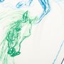 Authentic Second Hand Hermès Pirouette au Galop Shawl 140 (PSS-171-00058) - Thumbnail 2