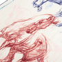 Authentic Second Hand Hermès Pirouette au Galop Shawl 140 (PSS-171-00058) - Thumbnail 5