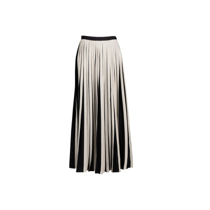 Authentic Second Hand By Malene Birger Ishrat Pleaty Maxi Skirt (PSS-171-00074)