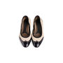 Authentic Second Hand Marni Leather Cap Toe Flats (PSS-054-00434) - Thumbnail 0