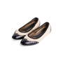 Authentic Second Hand Marni Leather Cap Toe Flats (PSS-054-00434) - Thumbnail 2