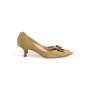 Authentic Second Hand Manolo Blahnik Canvas Pointed Pumps (PSS-054-00435) - Thumbnail 1