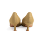 Authentic Second Hand Manolo Blahnik Canvas Pointed Pumps (PSS-054-00435) - Thumbnail 3
