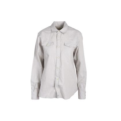 Authentic Second Hand Maison Kitsuné Men's Linen Shirt (PSS-054-00460)