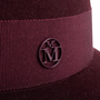 Authentic Second Hand Maison Michel Kate Fedora Hat (PSS-892-00011) - Thumbnail 4