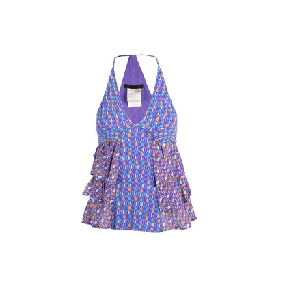 Authentic Second Hand Pinko Layered Halter Top (PSS-881-00017)