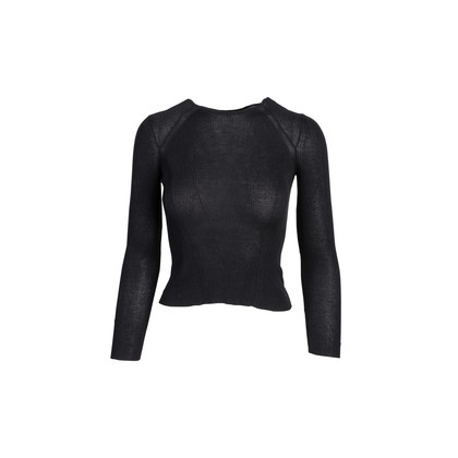 Authentic Second Hand Gucci Sheer Ribbed Top (PSS-054-00471)