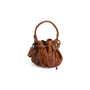 Authentic Second Hand Ling Wu Drawstring Bucket Bag (PSS-444-00049) - Thumbnail 1