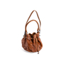Authentic Second Hand Ling Wu Drawstring Bucket Bag (PSS-444-00049) - Thumbnail 4