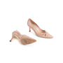 Authentic Second Hand Manolo Blahnik Nude Patent Pumps (PSS-054-00491) - Thumbnail 5