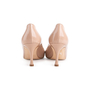 Authentic Second Hand Manolo Blahnik Nude Patent Pumps (PSS-054-00491) - Thumbnail 3
