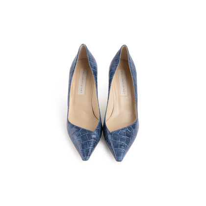 Authentic Second Hand Stella McCartney Embossed Leather Pumps (PSS-054-00490)