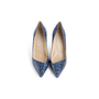 Authentic Second Hand Stella McCartney Embossed Leather Pumps (PSS-054-00490) - Thumbnail 0