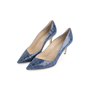 Authentic Second Hand Stella McCartney Embossed Leather Pumps (PSS-054-00490) - Thumbnail 2