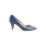 Authentic Second Hand Stella McCartney Embossed Leather Pumps (PSS-054-00490) - Thumbnail 1