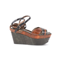 Authentic Second Hand Marni Snakeskin Platform Sandals (PSS-895-00003) - Thumbnail 1