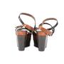 Authentic Second Hand Marni Snakeskin Platform Sandals (PSS-895-00003) - Thumbnail 3