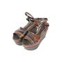 Authentic Second Hand Marni Snakeskin Platform Sandals (PSS-895-00003) - Thumbnail 2