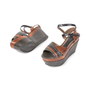 Authentic Second Hand Marni Snakeskin Platform Sandals (PSS-895-00003) - Thumbnail 4