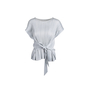Authentic Second Hand Pleats Please Tie Back Sleeveless Top (PSS-466-00057) - Thumbnail 0