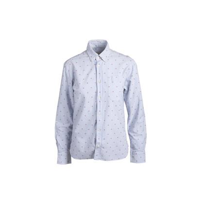 Authentic Second Hand Maison Kitsuné Button Down Flag Shirt (PSS-902-00011)