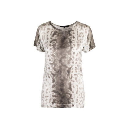 Authentic Second Hand Gucci Snake Print T-Shirt (PSS-132-00147)
