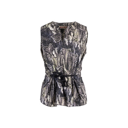 Authentic Second Hand Marni Sleeveless Printed Top (PSS-132-00148)