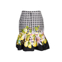 Authentic Second Hand Isolda Fluted Print Mini Skirt (PSS-340-00221) - Thumbnail 1