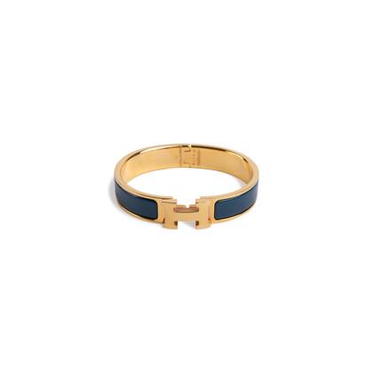 Authentic Second Hand Hermès Narrow Clic H Bangle (PSS-901-00003)