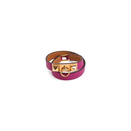 Authentic Second Hand Hermès Rivale Double Tour Bracelet (PSS-901-00017)