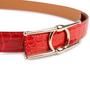 Authentic Second Hand Hermès Geranium Porosus 24mm Belt Kit (PSS-901-00028) - Thumbnail 4